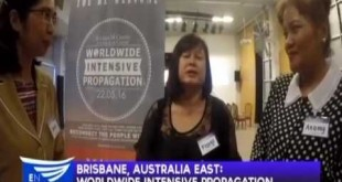 Brisbane, Australia:  Reconnect – Worldwide Intensive Propagation