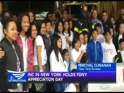 INC in New York holds FDNY Appreciation Day – Percival Cunanan reports