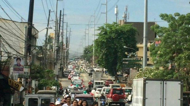 Motorcade and distribution of INC pamphlets in Payatas, Quezon City