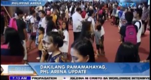 Worldwide Intensive Propagation in Philippine Arena