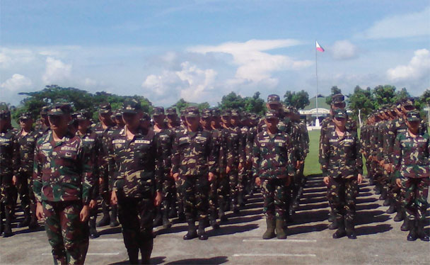 "Palace orders deployment of additional troops to Samar, Bicol, Negros to suppress ""lawless violence, acts of terror"""