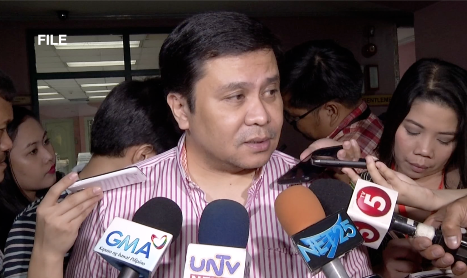 File Photo: Sen. Jinggoy Estrada