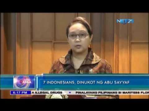 Abu Sayyaf abducts 7 Indonesians in Sulu Sea