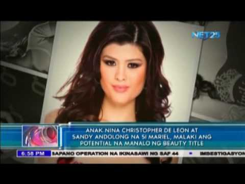 Daughter of Christopher De Leon may be the next Miss World-Philippines