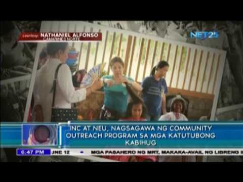 Iglesia Ni Cristo and New Era University conducts outreach program for indigenous tribes