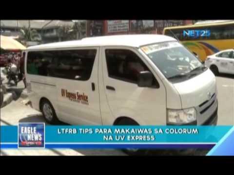 Kampanya vs kolorum na van sa Tarlac City, pinaigting