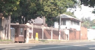 The Iglesia Ni Cristo property at no. 36 Tandang Sora Avenue in Quezon City.  A Manila metropolitan trial court has ordered the illegal occupants of the place to immediately vacate the premises of this INC property.  (Eagle News Service)