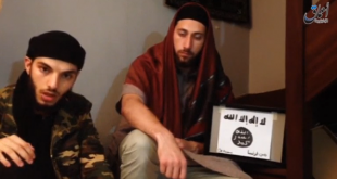 Islamic state posts video of men it says were French church attackers