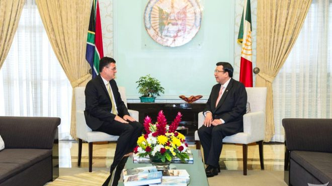 South African Ambassador visits Iglesia Ni Cristo Central Office
