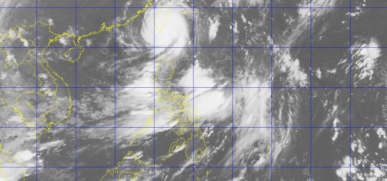 Satellite image of typhoon Butchoy as of 3:30 a.m. (Photo courtesy PAGASA-DOST)