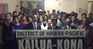 Greeting from the members of Church of Christ in Kailua-Kona, Hawaii Pacific