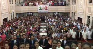 Greetings from members of Iglesia Ni Cristo in Laguna West for #INC102