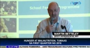 Hunger at malnutrition, tumaas sa first quarter ng 2016
