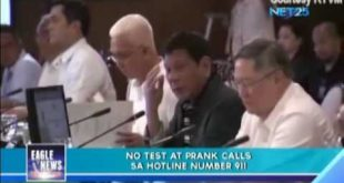 No test at prank calls sa hotline number 911