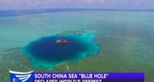 "South China Sea ""Blue Hole"" declared world's deepest"