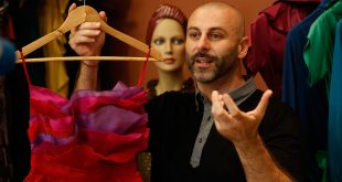 Palestinian designer for rich and famous pops up in W.Bank