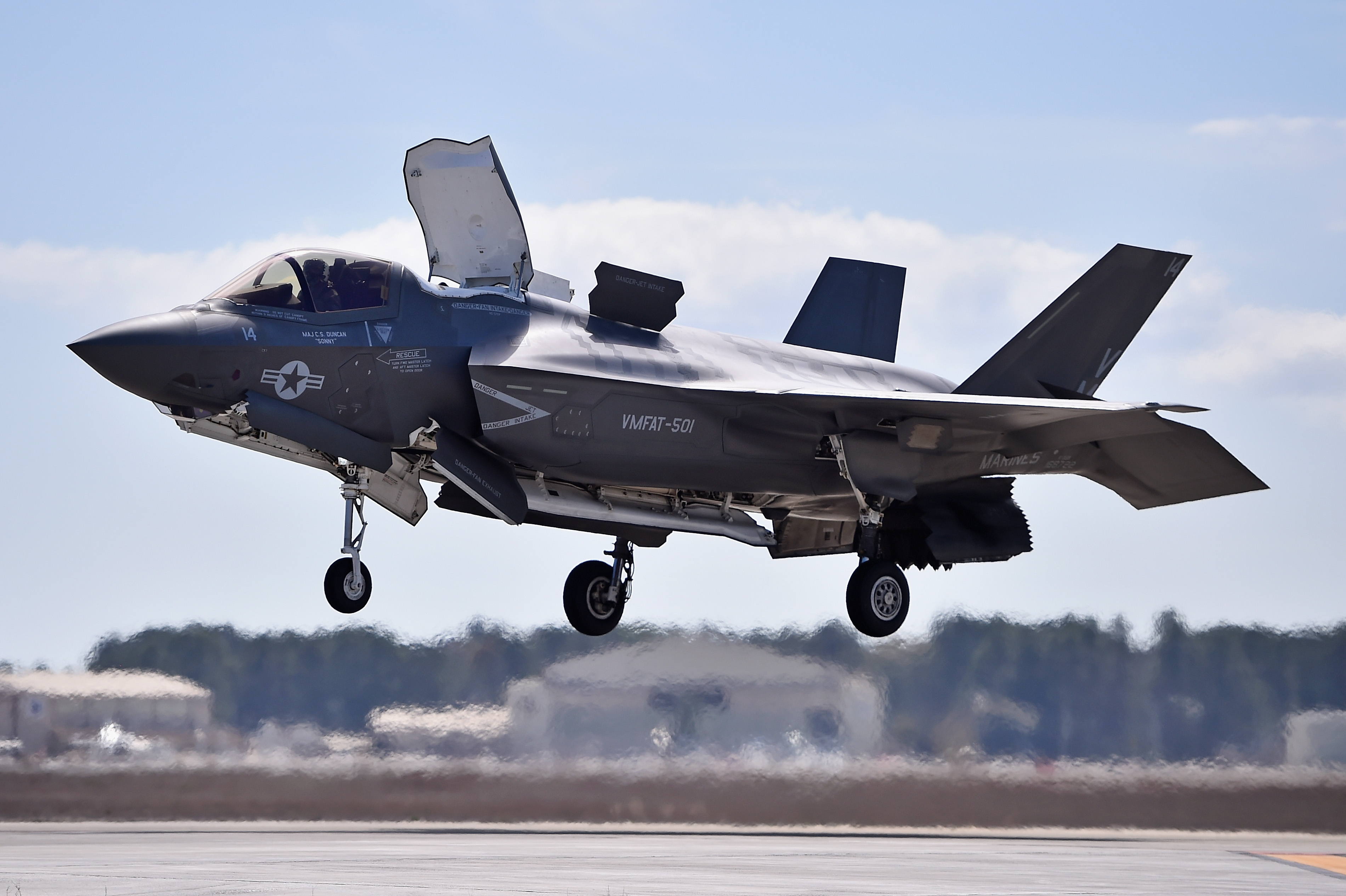 US Air Force Declares F-35A Fighter Jet 'combat Ready