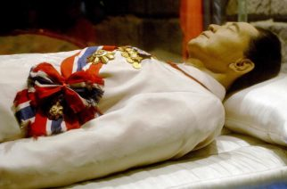 The body of the late Philippines preside