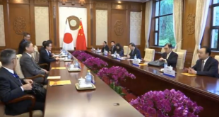 Japan and China in talks on improving relations