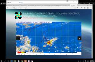 Courtesy PAGASA-DOST website