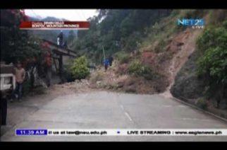 Panibagong landslide sa Bontoc, Mountain Province
