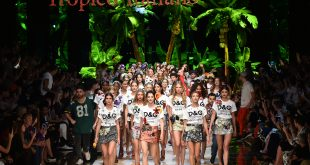 Dolce & Gabbana gets Milan dancing to tropical beat