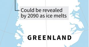 Melting Greenland ice threatens to expose Cold War waste