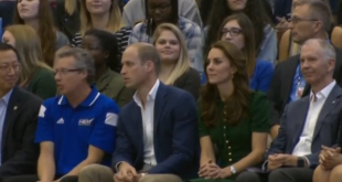 The Duke and Duchess of Cambridge attend events and volleyball game at British Columbia university