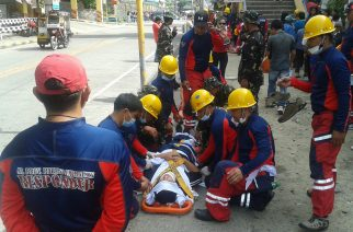 Earthquake drill isinagawa sa Mt. Province