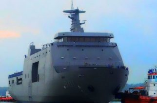 PHL's BRP Tarlac leads naval blockade vs. ASG