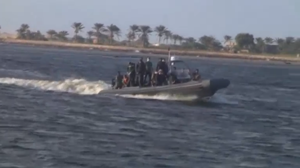 Thirty-three more bodies are retrieved from a ship wreck off the coast of Egypt bringing up the total death toll of drowned migrants to 202. (Photo captured from Reuters video)