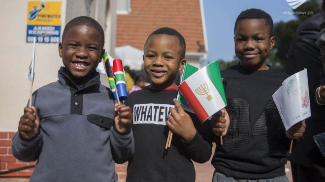 South African children who are proud to be INC