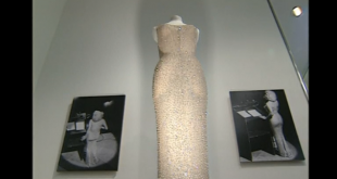 Marilyn Monroe's dress from JFK birthday performance up for auction