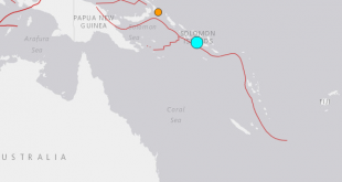 6.0-magnitude quake hits off Solomon Islands