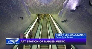 Art station of the Naples Metro