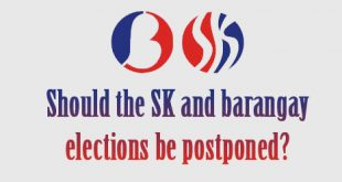 Should the SK and barangay elections be postponed?