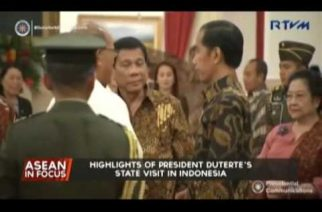Highlights of President Duterte's state visit in Indonesia