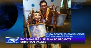 Iglesia ni Cristo members use film to promote Christian values