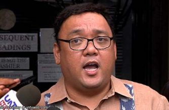"""Roque: Diplomatic protest should be filed if further """"militarization"""" of Kagitingan Reef by China proven"""