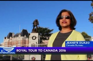Royal tour to Canada 2016