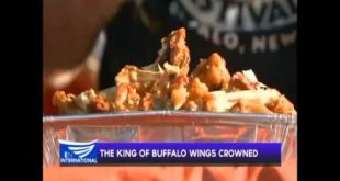 The King of Buffalo wings crowned