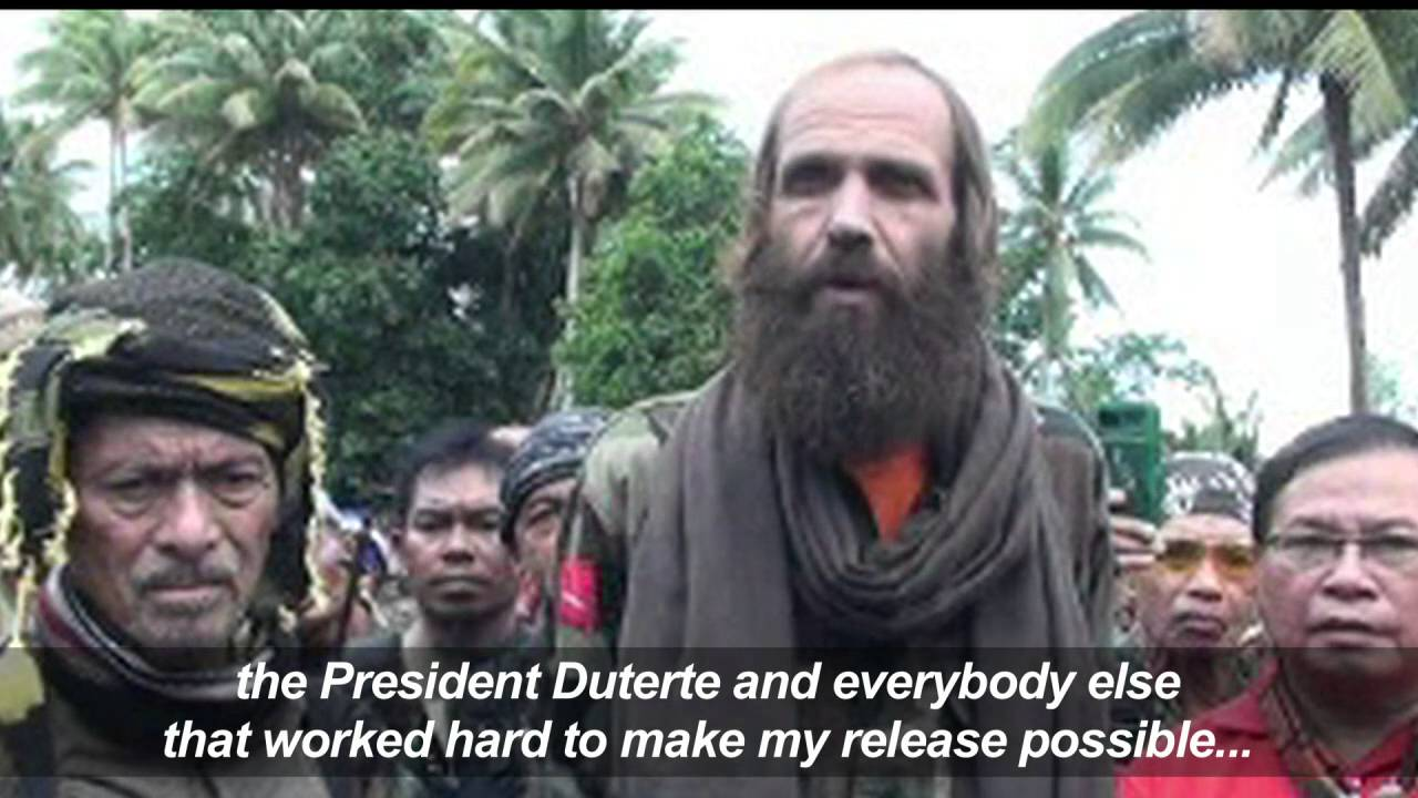 Watch:  Norwegian hostage thanks MNLF's Misuari and President Duterte for securing his release