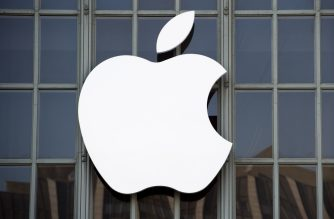 The Apple logo is seen on the outside of Bill Graham Civic Auditorium before the start of an event in San Francisco, California on September 7, 2016. Apple on Wednesday is expected to introduce a new iPhone and perhaps a second-generation smartwatch as it polishes its lineup of devices to shine during the year-end shopping season. The rumor mill has been grinding away with talk of iPhone 7 models that will boast faster chips, more sophisticated cameras, and improved software while doing away with jacks for plugging in wired headphones.  / AFP PHOTO / Josh Edelson