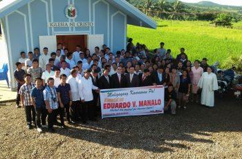 Bagong barangay chapel ng Iglesia Ni Cristo sa Naval, Biliran pinasinayaan