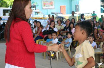 Story Telling at Feeding Program para mga bata isinagawa ng Iglesia Ni Cristo sa Infanta, Quezon