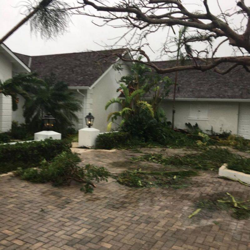 hurricane matthew aftermath in nassau bahamas