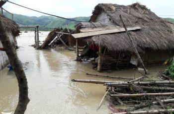 News in photos: Raging river waters reach houses in Gabaldon, Nueva Ecija