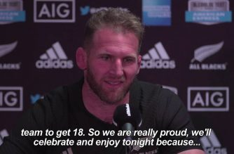 All Blacks set rugby world record with 18th straight win