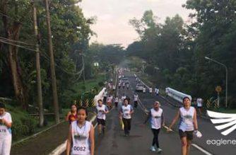 """Kapulisan ng Palayan City at Laur, Nueva Ecija pinangunahan ang """"Fun Run for a Cause"""""""