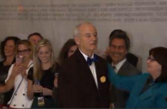 Comedian Bill Murray awarded Kennedy Center's Mark Twain Prize